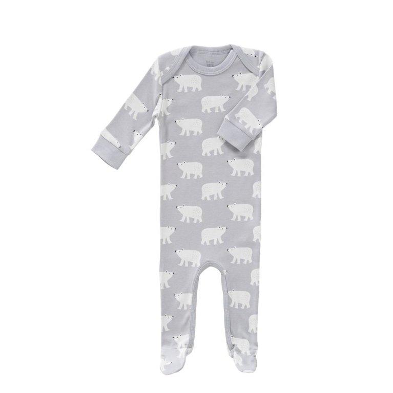 Pijama manga larga azul con estrellitas plata de Aden & Anais