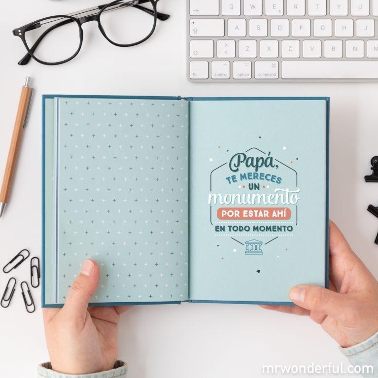 Libro para papás de Mr Wonderful