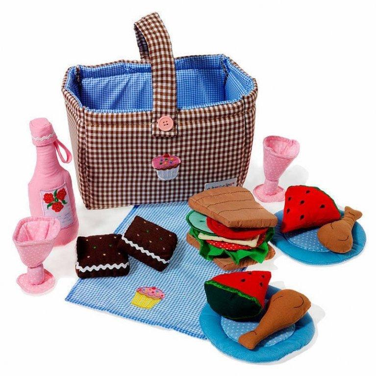 juguete para niños cesta picnic
