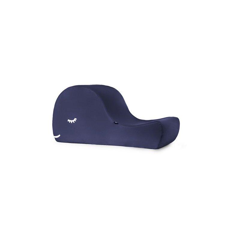 sillón infantil con forma de ballena