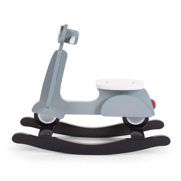 Scooter balancín azul