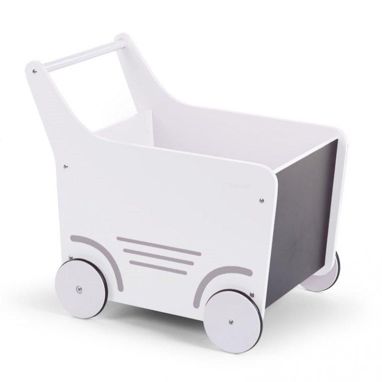 Carrito andador blanco - Childhome