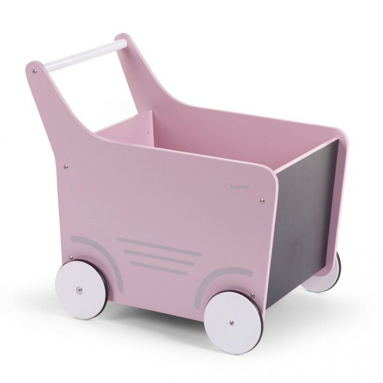 Carrito andador rosa - Childhome