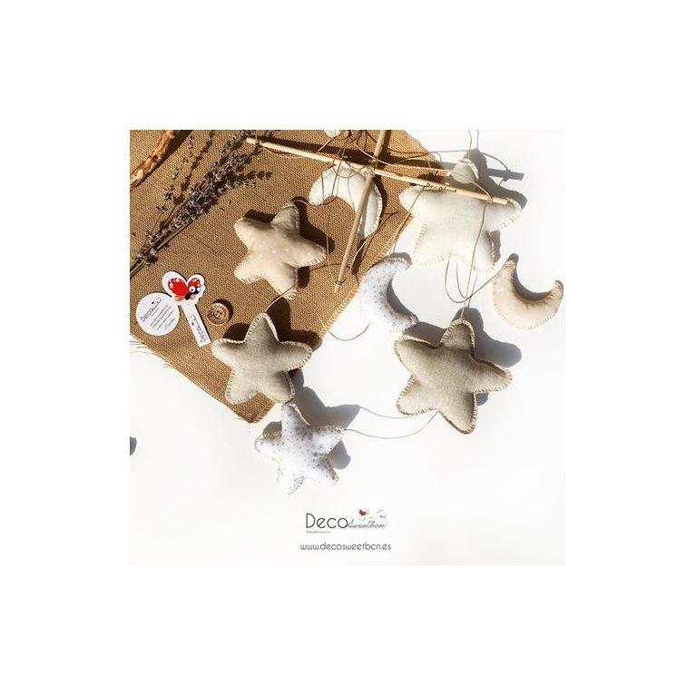 Móvil de cuna hecho a mano - Decosweet