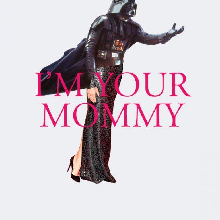 "Graciosa camiseta para embarazada ""Soy tu madre"""