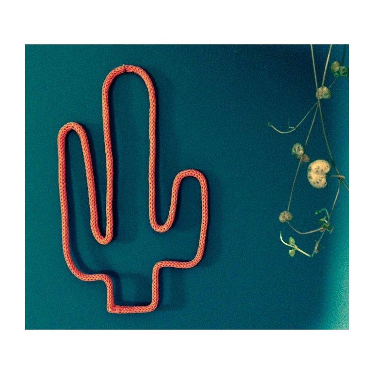 Cactus de lana decorativa Maminébaba