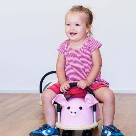 Correpasillos Cerdito de Wheely Bug