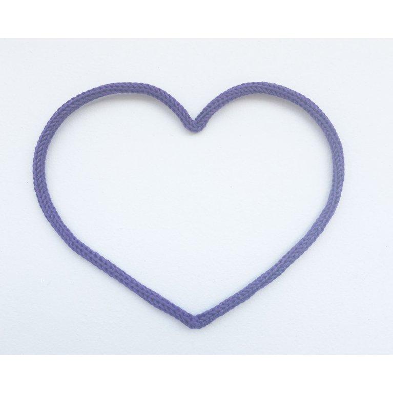 Corazón de lana decorativa Maminébaba