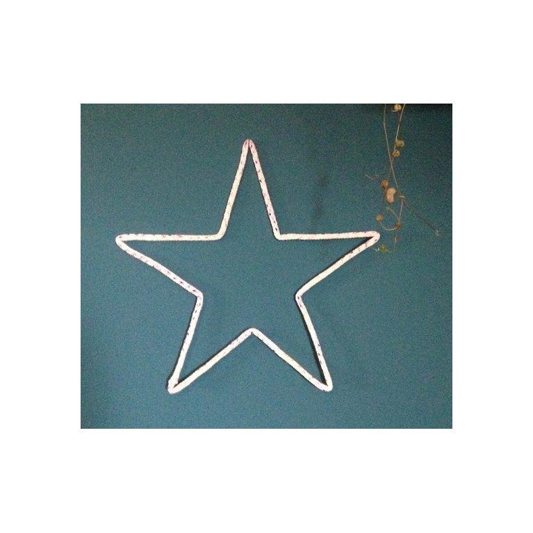 Estrella de lana decorativa Maminébaba