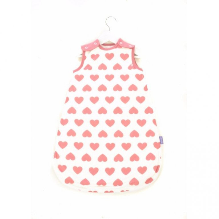 Saco de dormir con corazones - Mamá Designs