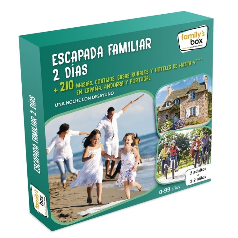 Box Escapada familiar 2 días - Kiddy's