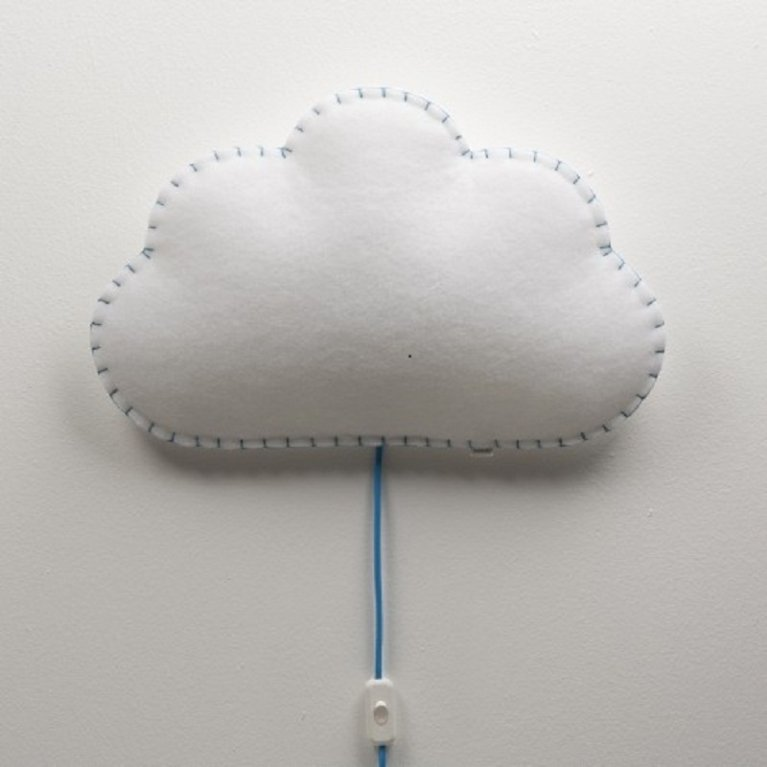 Lámpara de pared 'nube' - Buokids