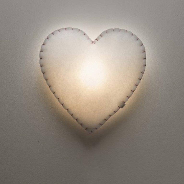 Lámpara aplique 'corazón' - Buokids