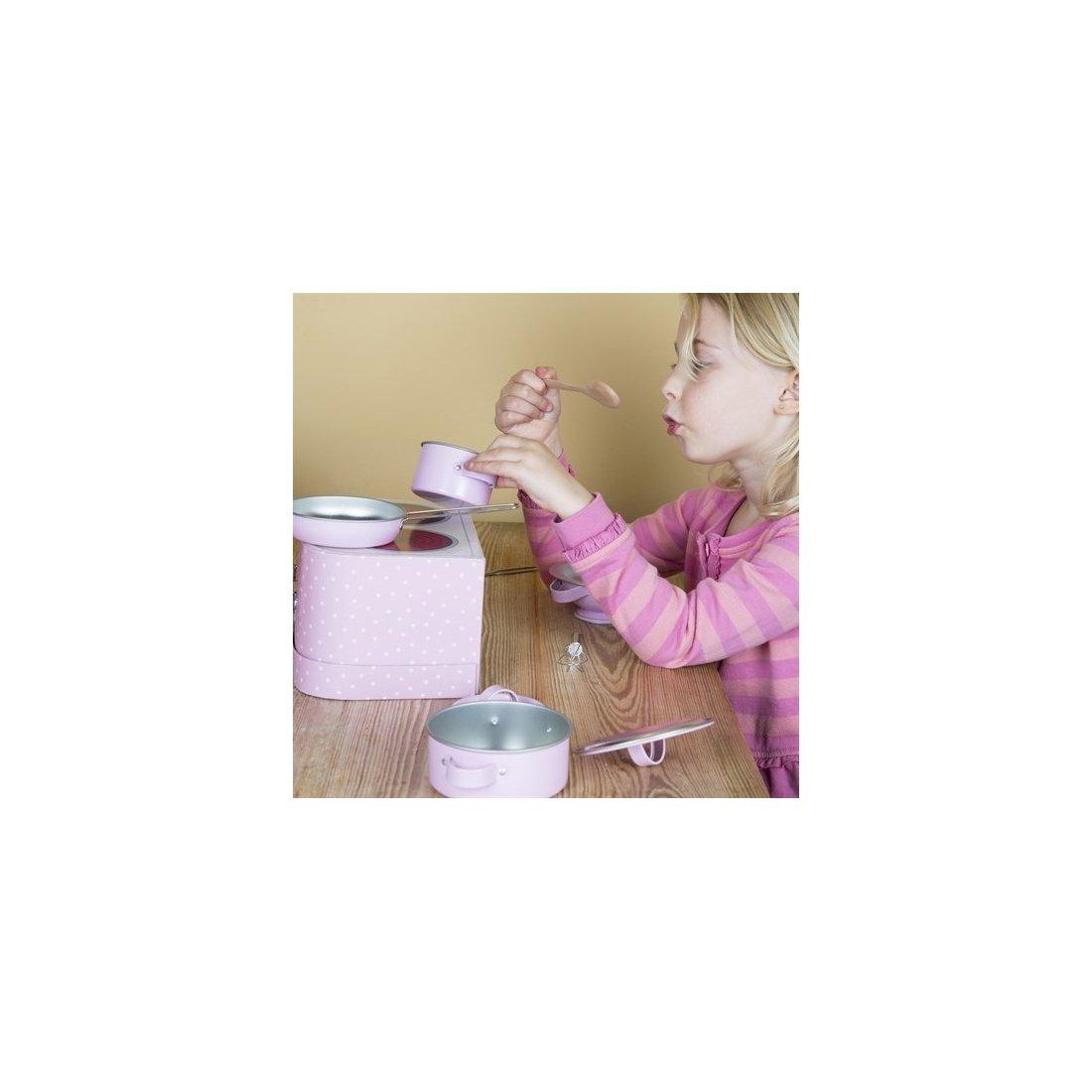 cocinita de juguete para nios rosa