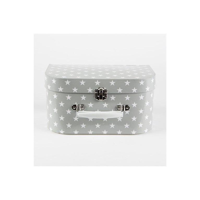 Cocinita de juguete para niños - Gris con estrellas blancas