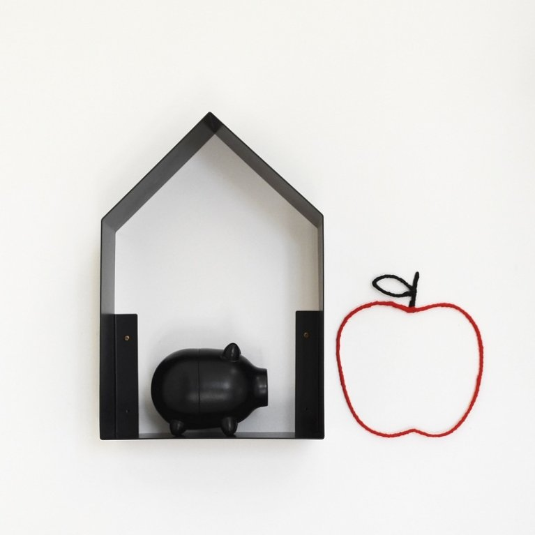 estantería en forma de casa Tresxics