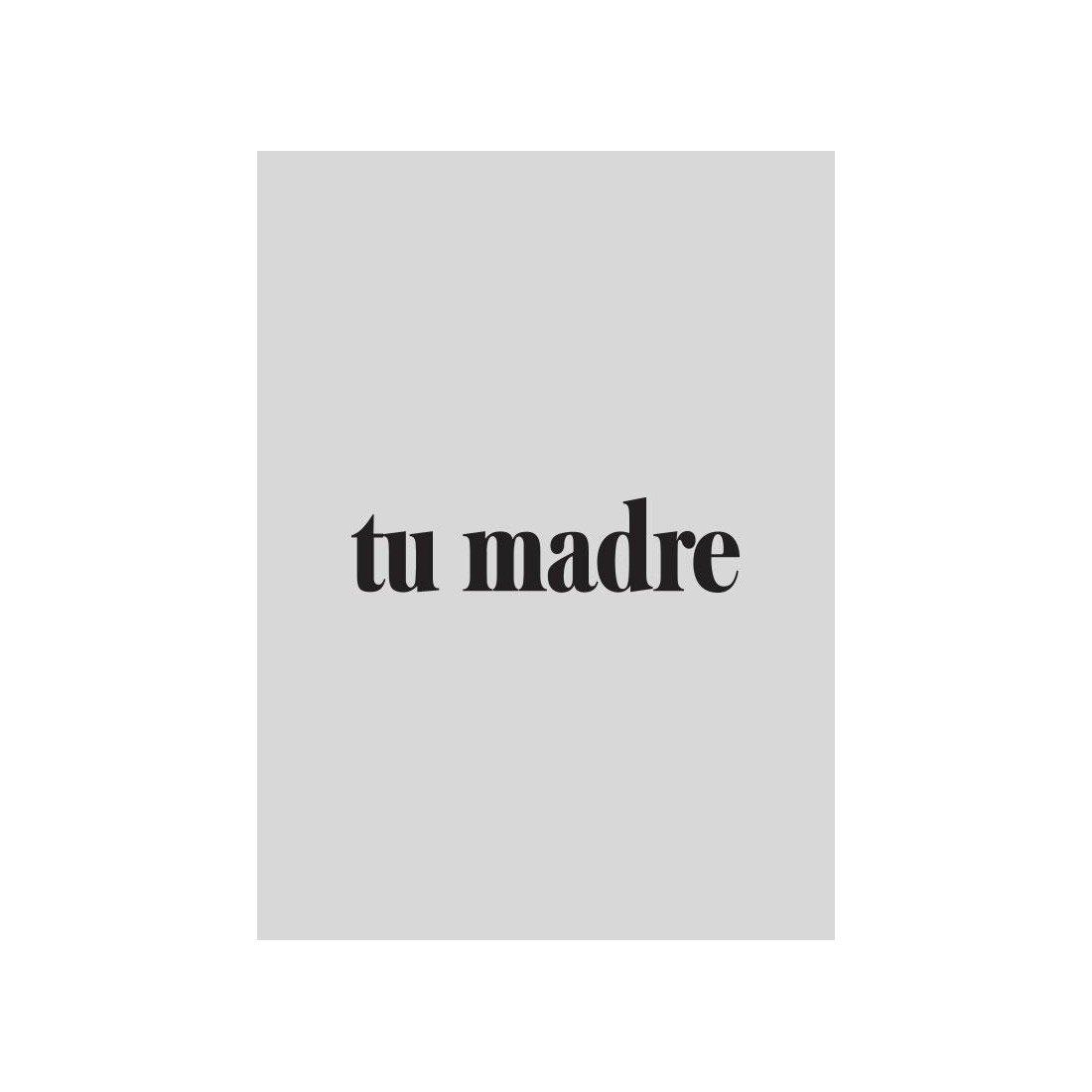 """Camiseta para embarazadas """"Tu madre"""" de Dressmadre"""