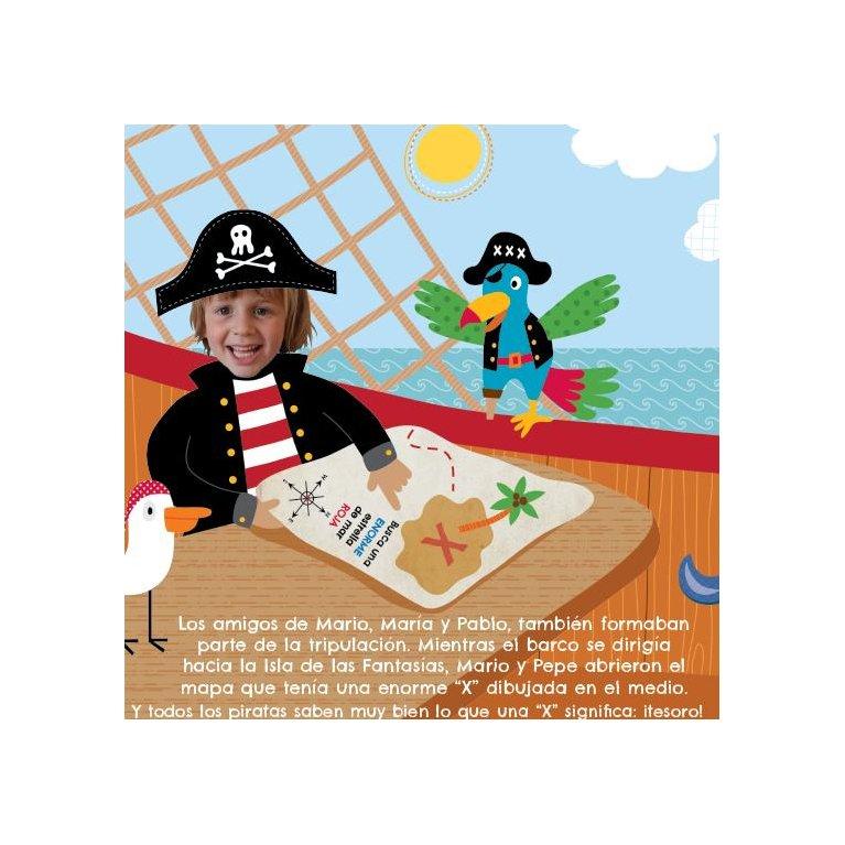 """Cuento personalizado para niños """"El capitán pirata"""" – Fabuloos Dreams"""