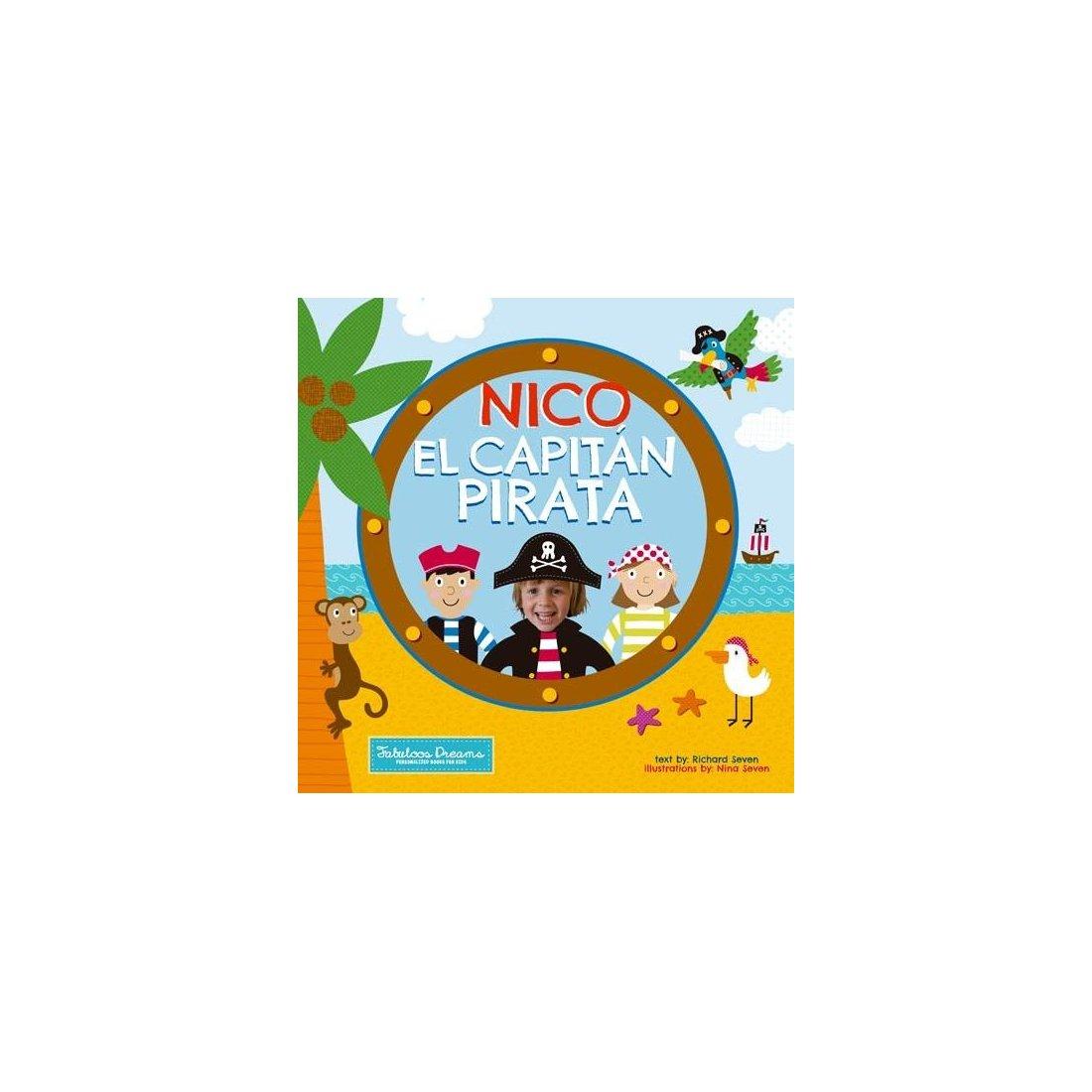 """52baf4d2b Cuento personalizado para niños """"El capitán pirata"""" – Fabuloos Dreams ..."""