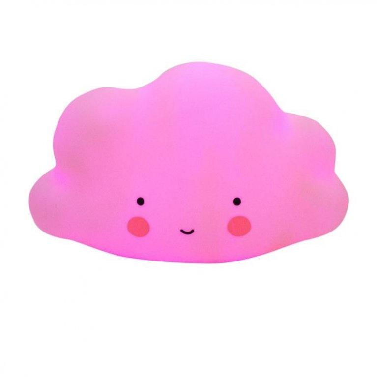 Luz de noche nube pequeña rosa - A Little Lovely Company