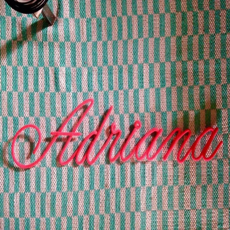 Nombre en tricotín Maminébaba