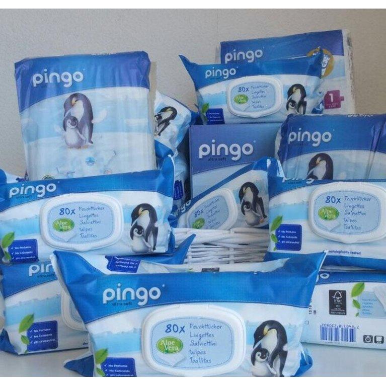Pack de pañales y toallitas para bebés - Pingo