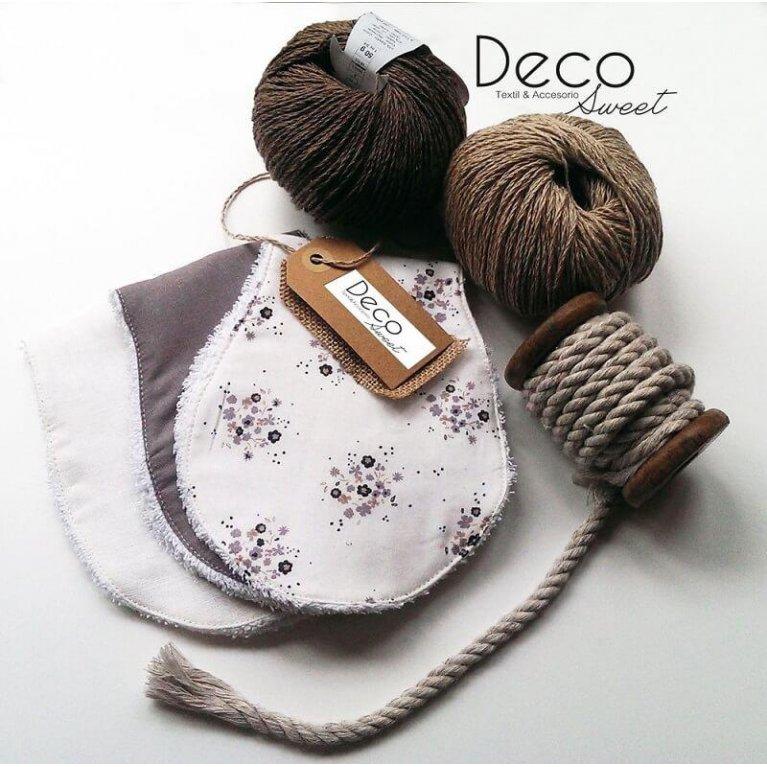Pack de 3 quita babas bebé - Decosweetbcn