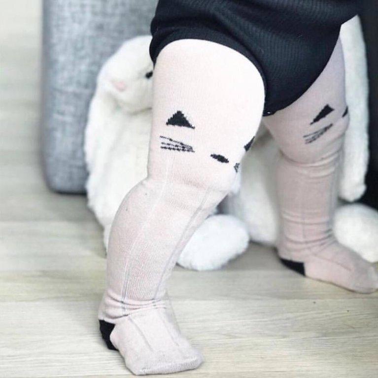 Pantys para bebés rosa 'Lindo gatito' - Liewood