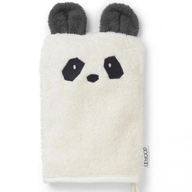 Guante de baño orgánico 'Osito Panda' - Liewood
