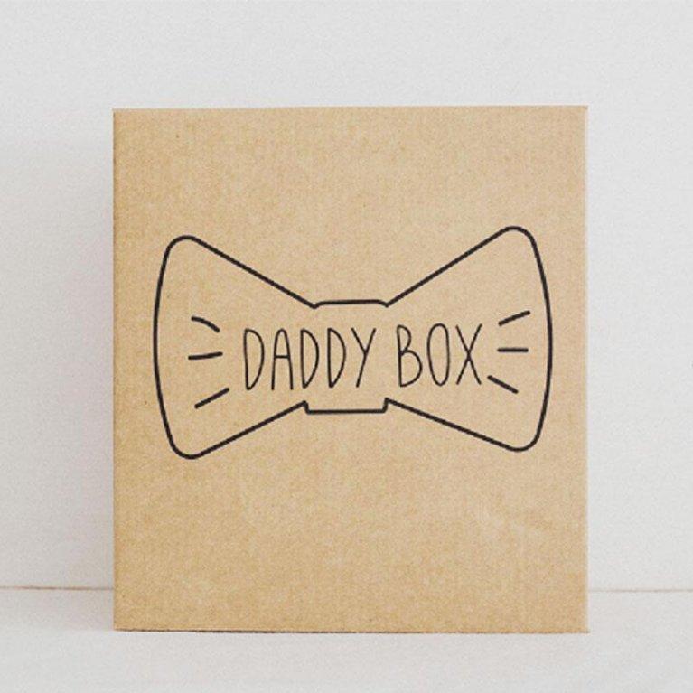 """Caja regalo con mensaje: """"Daddy Box"""""""