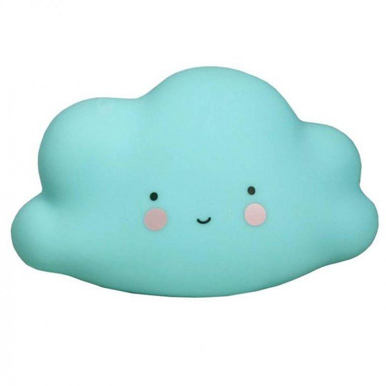 Luz de noche nube pequeña azul - A Little Lovely Company