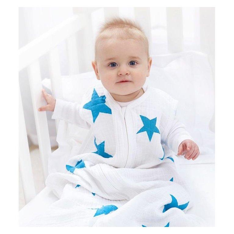 Saco de dormir verano estrellas azules - Aden&Anais