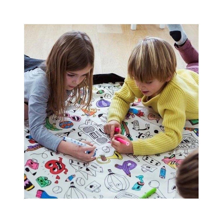 Bolsa Play&Go 'Pinta y colorea' de almacenaje