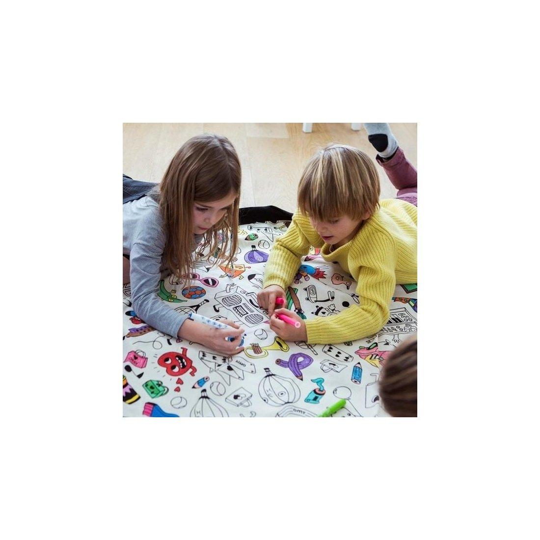 Bolsa de almacenaje y orden para juguetes de play go tubebebox - Almacenaje de juguetes ...
