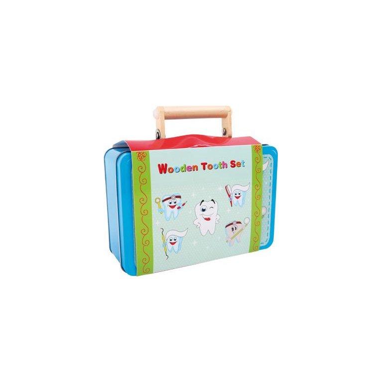 Juego maletín de dentista para niño