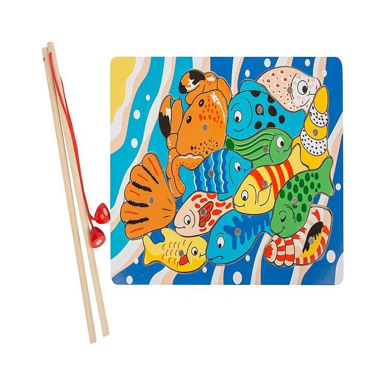Juguete para niño puzzle pesca
