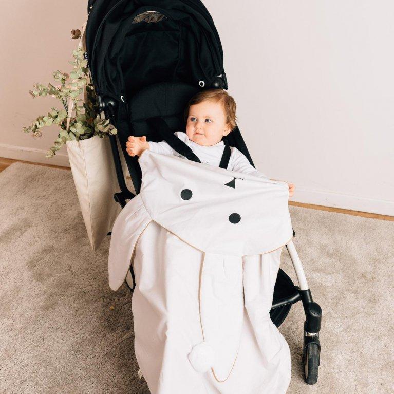 """Mantita de invierno para bebé """"Conejito"""""""