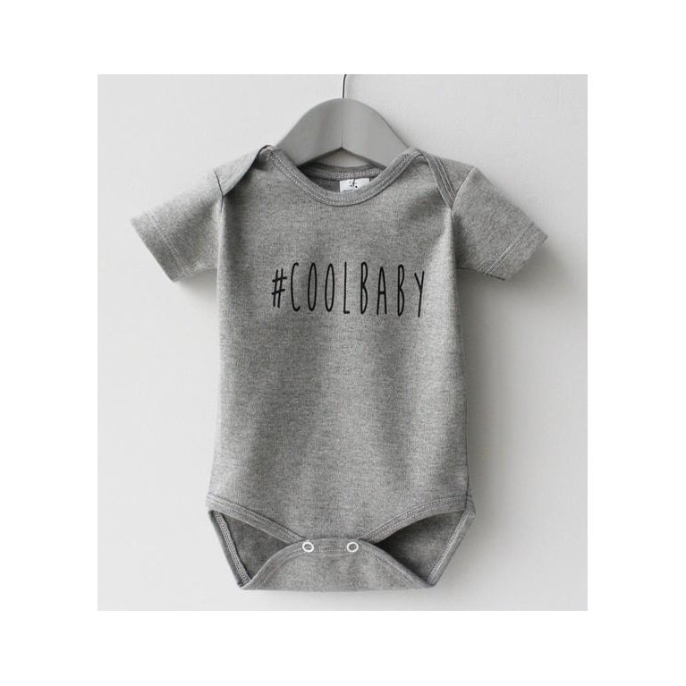 Body gris COOL BABY