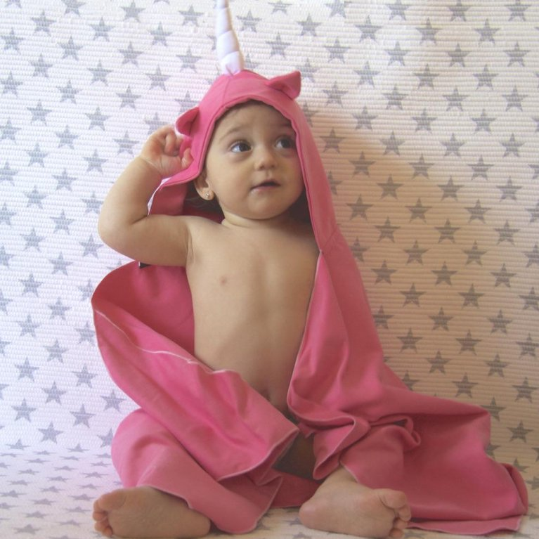 Capa de baño infantil Montessori Autonomy Unicorn