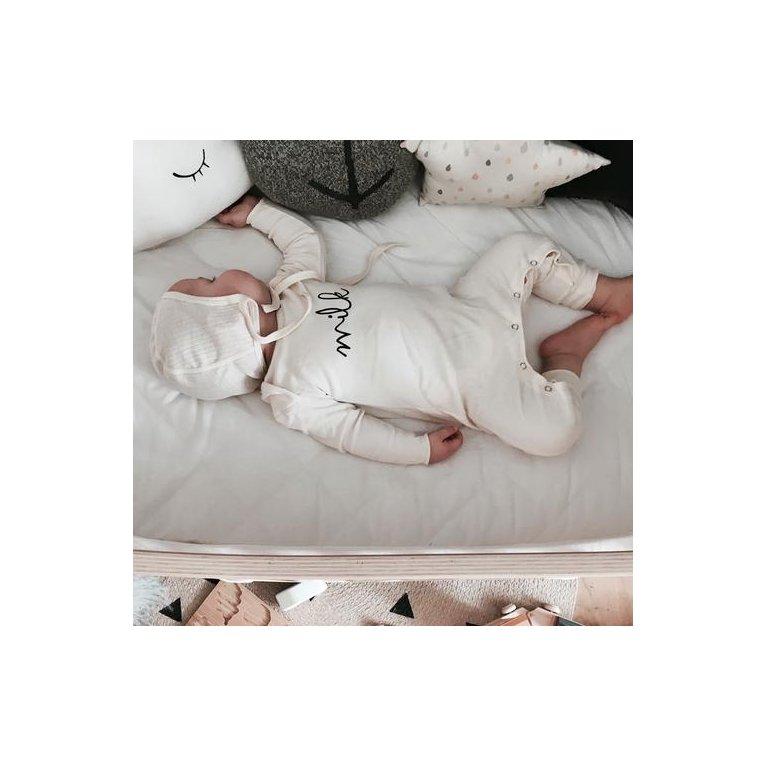 Pijama para bebé orgánico 'Milk'