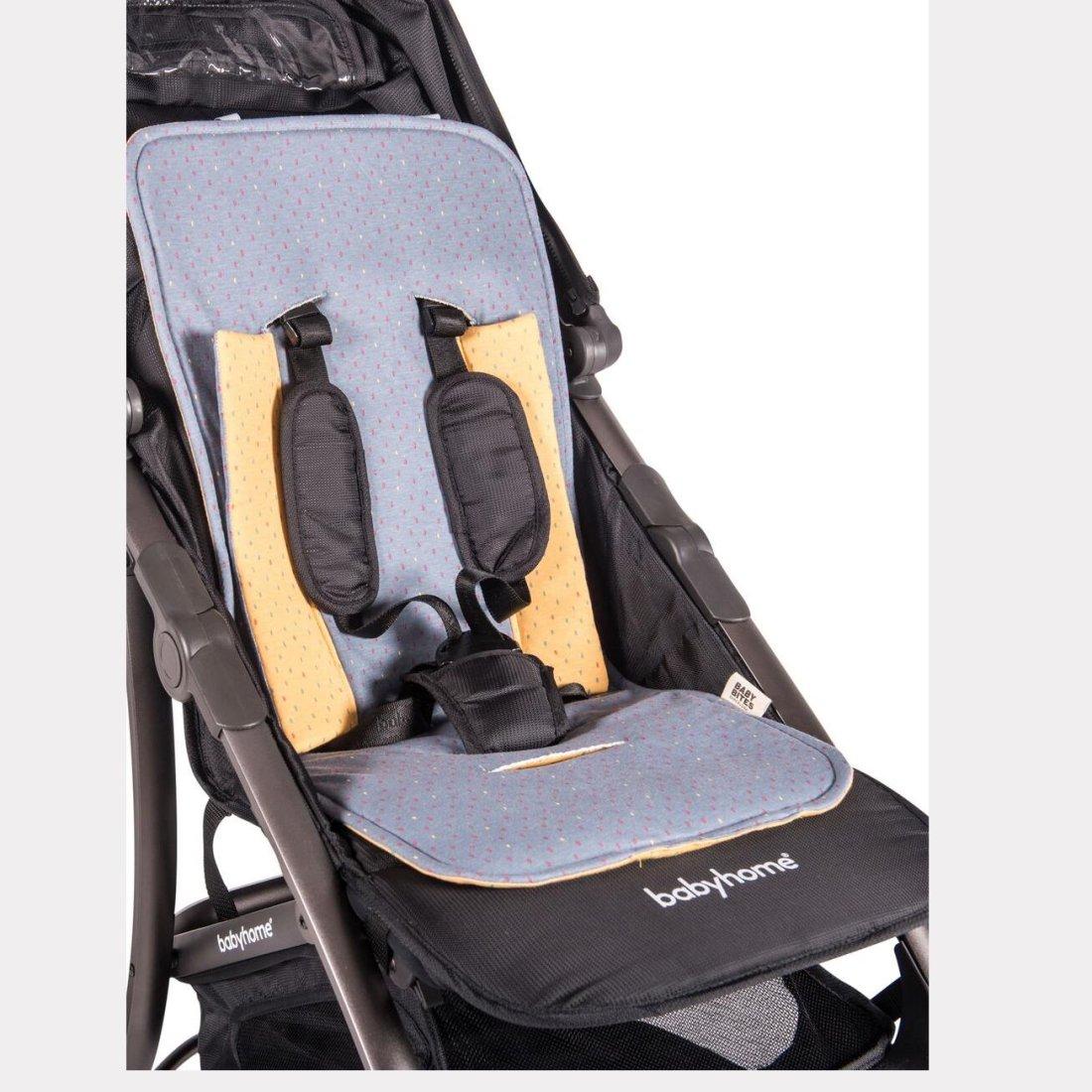 Colchoneta silla de paseo reversible baby bites - Colchoneta silla paseo ...