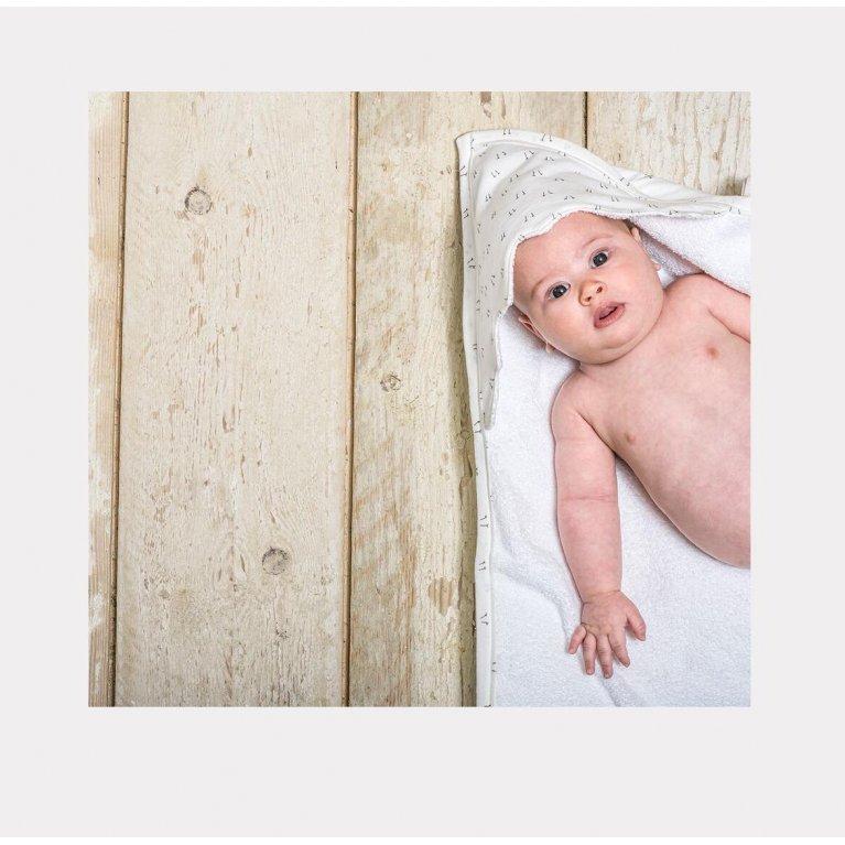 Set toalla y manopla para recién nacido - Baby Bites