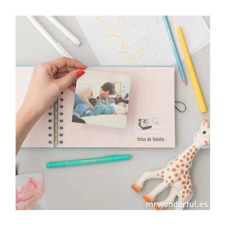 Álbum para bebé 'Mi primer añito' Mr Wonderful