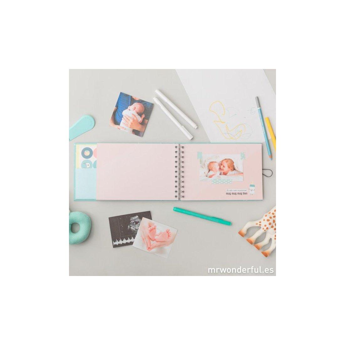 álbum Mi Primer Añito Mr Wonderful Tu Bebebox