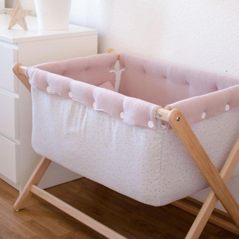 Mini cuna artesanal recién nacido - Nonotú