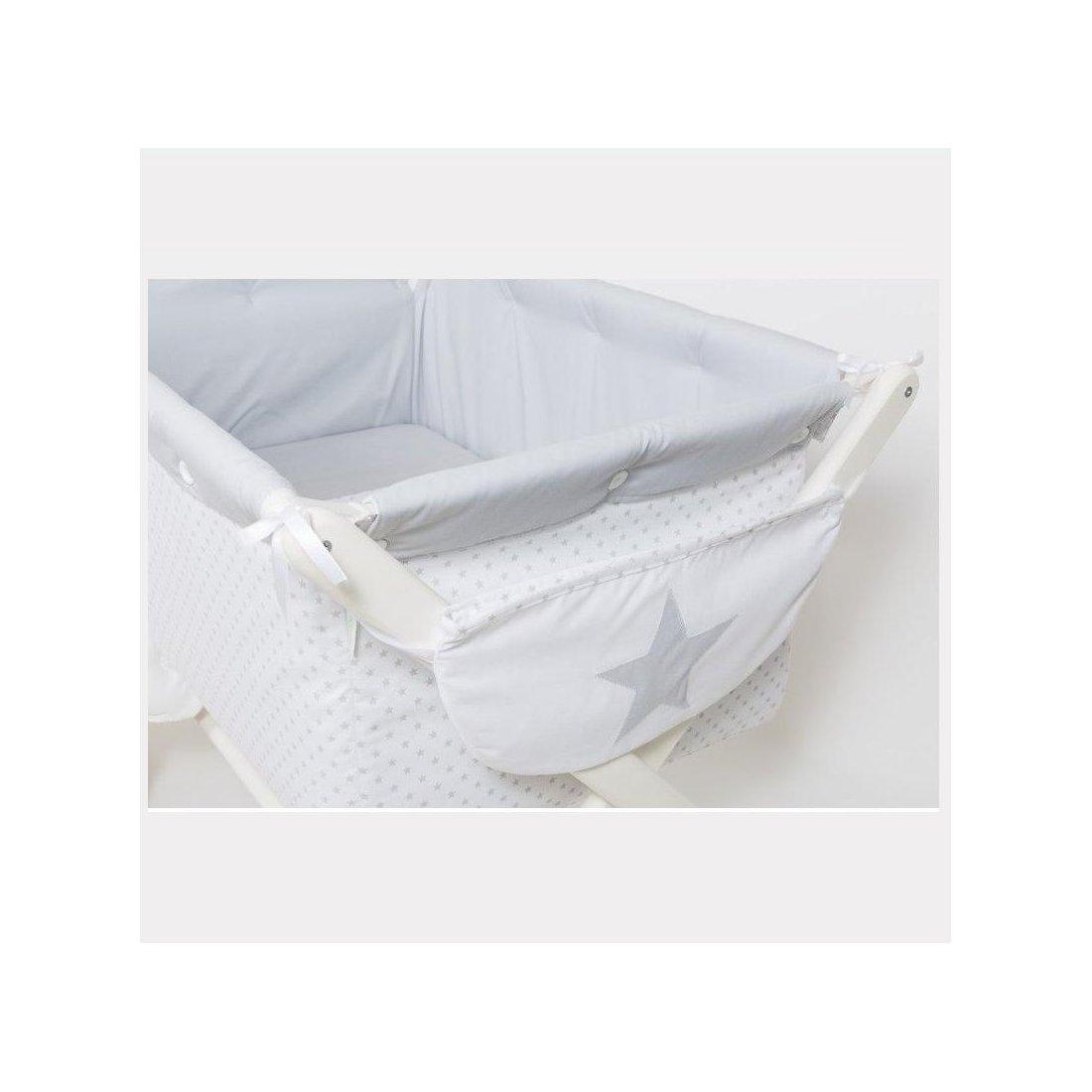 Mini Cuna Con Vestidura Para Bebe Hecha A Mano Tu Bebebox