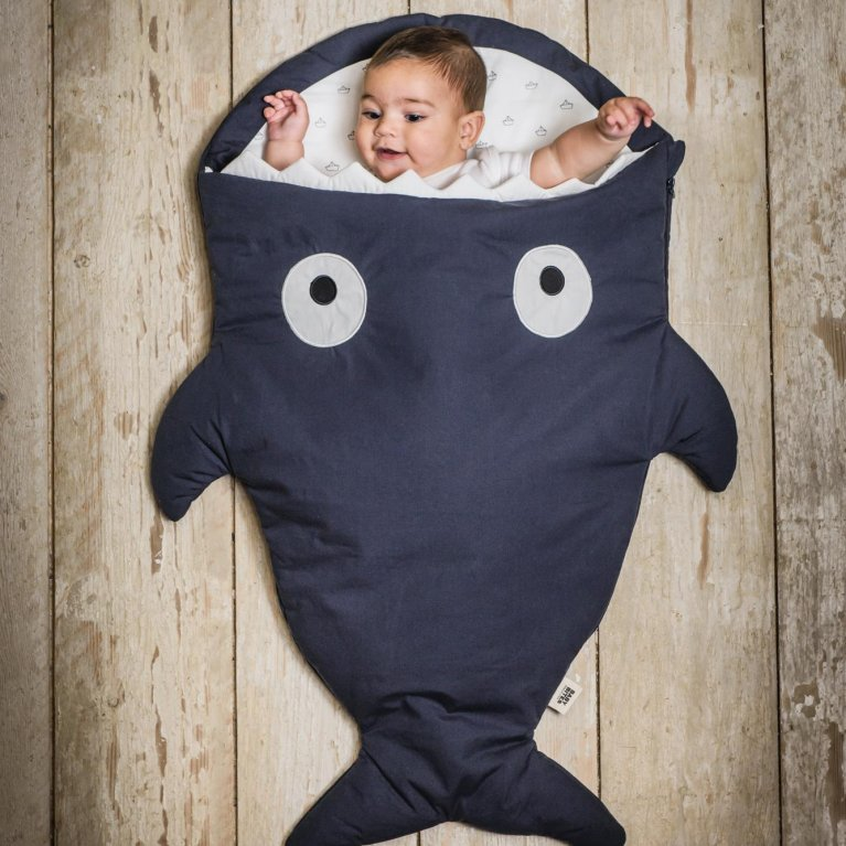 Saco de dormir de invierno Baby Bites tiburón