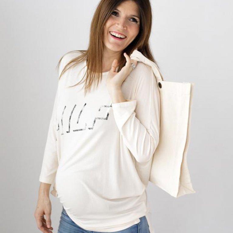 """Camiseta para embarazadas """"MILF"""" de Dressmadre"""