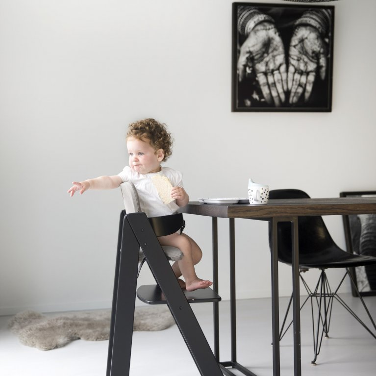 Cojín para trona madera evolutiva bebé y niño